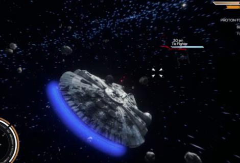 Footage από ένα space combat Star Wars game που δεν θα δούμε… ποτέ!