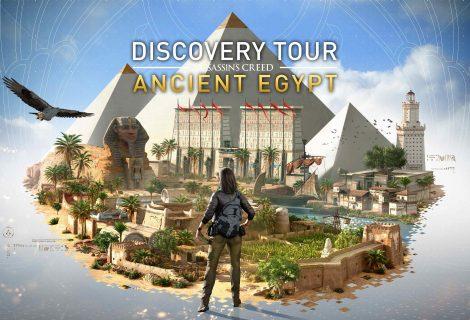 Μάθημα Αιγυπτιακής Ιστορίας! Το Assassin's Creed Origins Discovery Tour mode έρχεται στις 20/2!