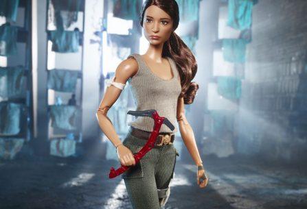 Η Lara Croft γίνεται… κούκλα Barbie!