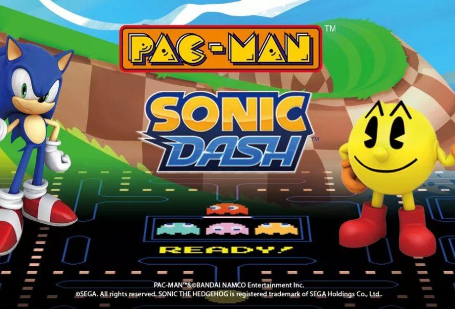 Τρελή «mobile» συνάντηση ανάμεσα σε Sonic και… Pac-Man!