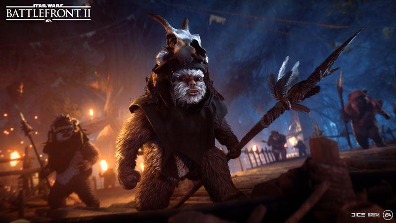 Τα Ewoks σκάνε μύτη σε νέο mode του Star Wars Battlefront 2!