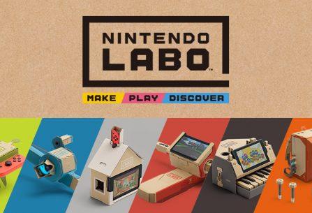 """ΑΠΟΨΗ: Nintendo Labo - Make """"gaming"""" gr8 again!"""