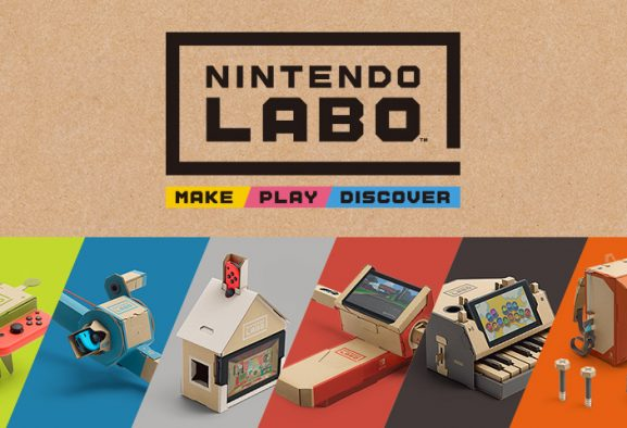 "ΑΠΟΨΗ: Nintendo Labo - Make ""gaming"" gr8 again!"