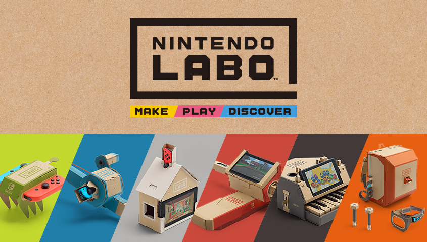 "ΑΠΟΨΗ: Nintendo Labo – Make ""gaming"" gr8 again!"
