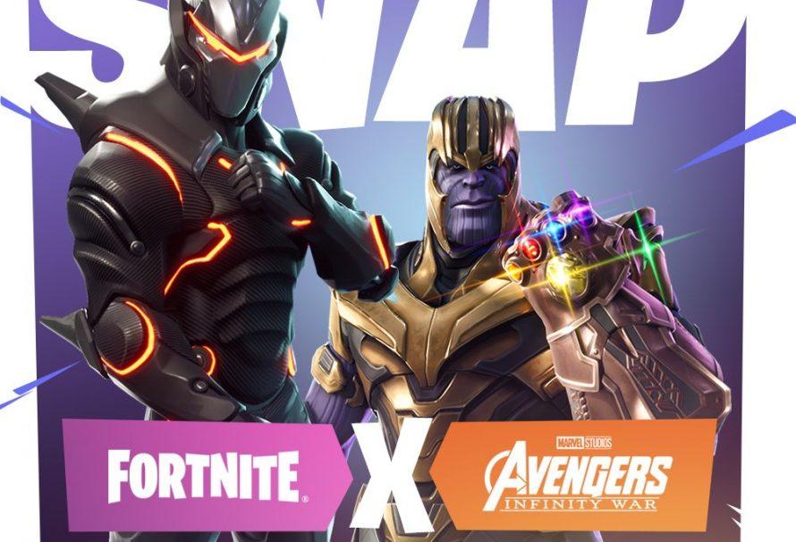Θα καταρρεύσουν οι servers! Ο Thanos εισβάλλει στο Fortnite!