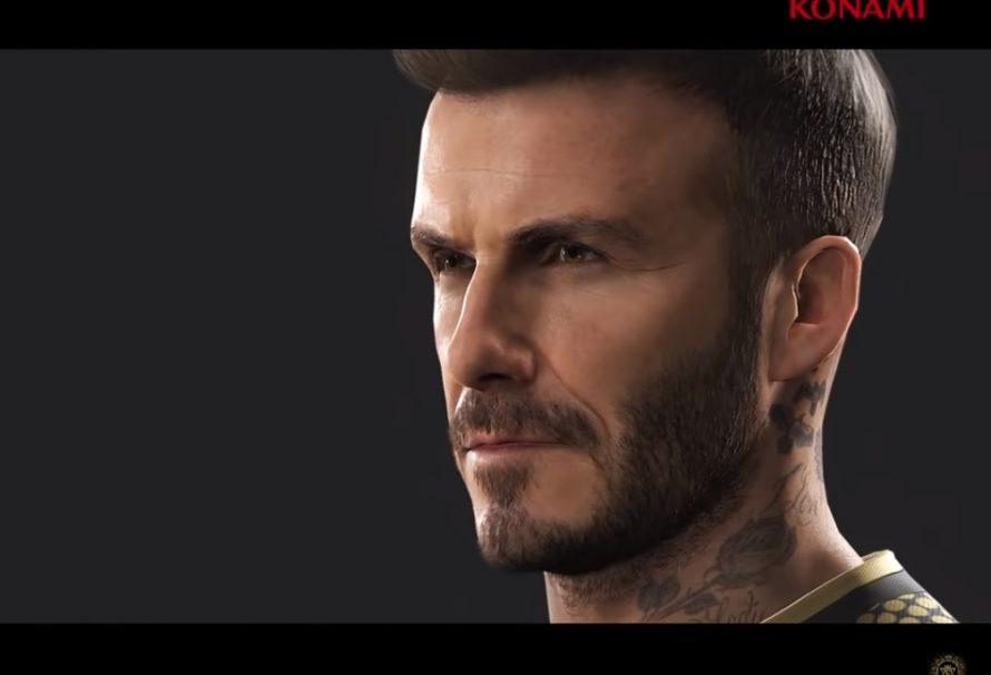 Ο David Beckham είναι το πρόσωπο του PES 2019 (νέο trailer)!