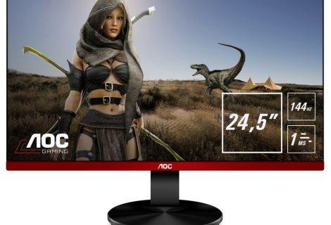 Νέα mainstream gaming οθόνη 144 Hz από την AOC με AMD Radeon FreeSync και χρόνο απόκρισης στο 1ms!