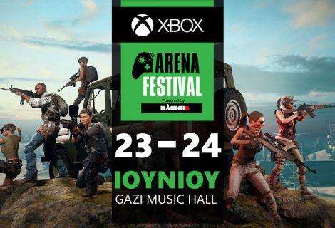 Το Xbox Arena Festival powered by Πλαίσιο, έρχεται στις 23 & 24 Ιουνίου και θα γίνει... πανικός!