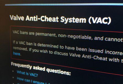 Του ban το κάγκελο στο Steam! 95.000 και πλέον bans μέσα σε μία μόλις εβδομάδα!