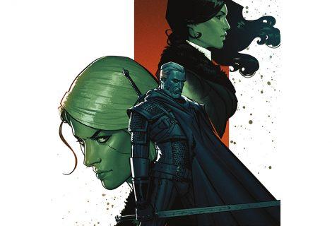 The Witcher: Η Κατάρα των Κορακιών (graphic novel)