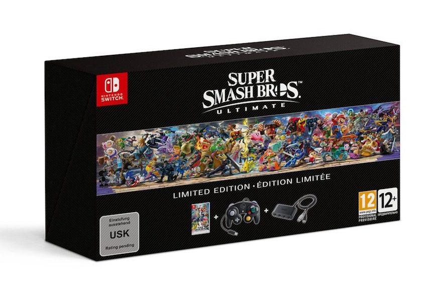 Δείτε την απίθανη Super Smash Bros. Ultimate Limited Edition!