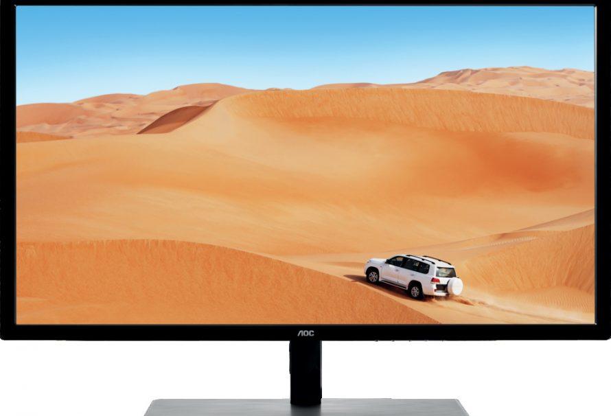 """Η AOC παρουσιάζει μια νέα 31,5"""" οθόνη IPS QHD με 75Hz, 5ms GtG και AMD FreeSync!"""