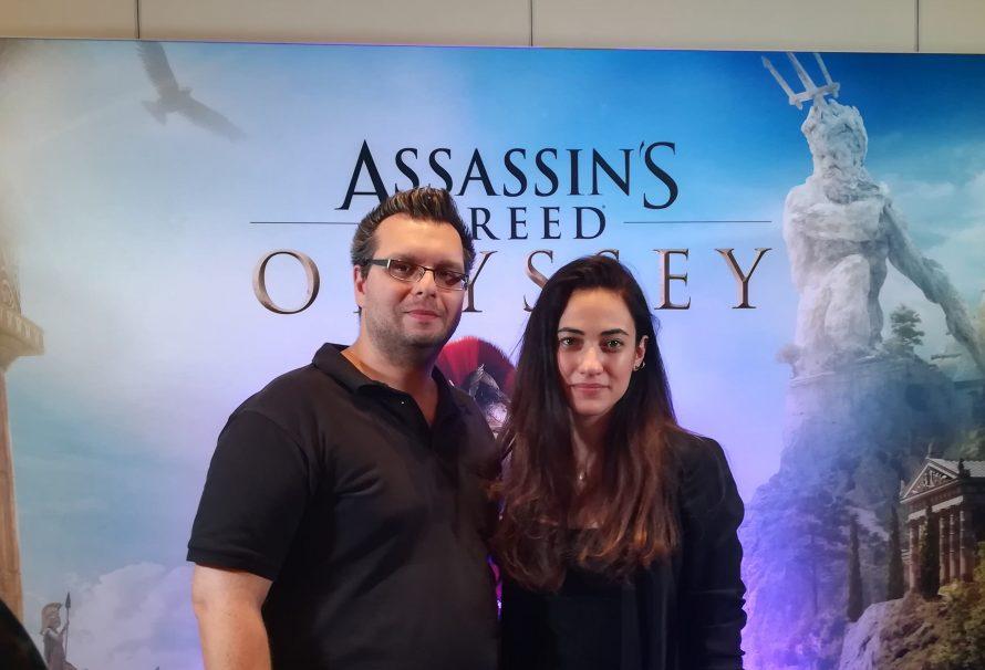 Meet «Kassandra»! H voice actor του AC: Odyssey, Μελισσάνθη Μάχουτ μας μιλάει για την εμπειρία της!