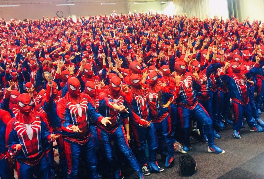 547 ντυμένοι Spider-Man γιορτάζουν το game της Insomniac και κάνουν Ρεκόρ Guinness!