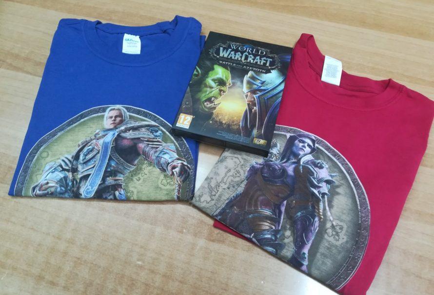 [ΕΛΗΞΕ] ΔΙΑΓΩΝΙΣΜΟΣ WoW: Battle for Azeroth – Κερδίστε συλλεκτικά δώρα!