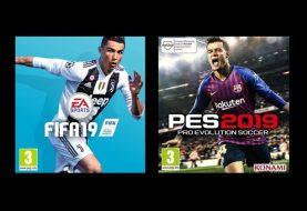 ΑΠΟΨΗ: FIFA 19 vs PES 19... Ποιο είναι καλύτερο;