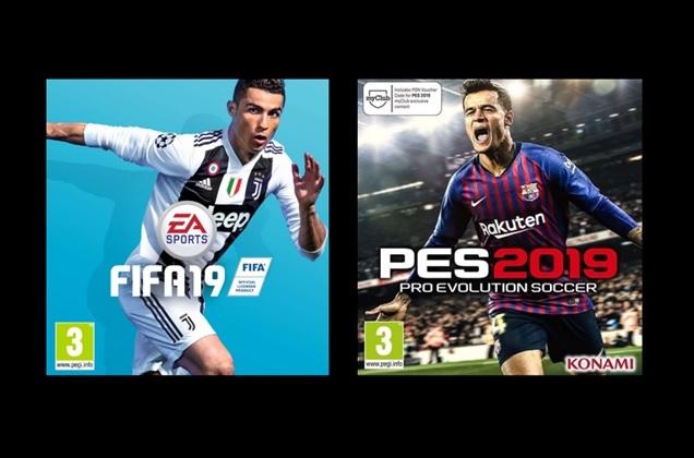 ΑΠΟΨΗ: FIFA 19 vs PES 19… Ποιο είναι καλύτερο;