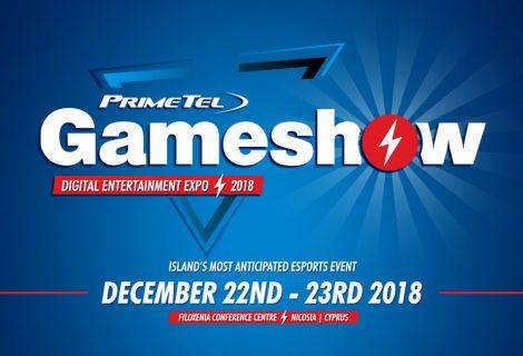 Gameshow Cyprus 2018: Το απόλυτο eSports & gaming event για πρώτη φορά στην Κύπρο!