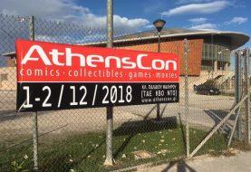 7+1 λόγοι που το AthensCon 2018 θα μας μείνει αξέχαστο!