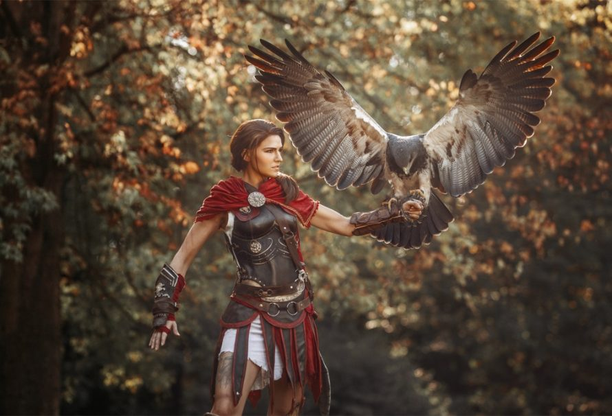 Το πιο EPIC Kassandra cosplay από το Assassin's Creed: Odyssey που είδατε ποτέ!