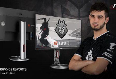 AOC G2590PX/G2, το gaming monitor που φέρει την υπογραφή της ομάδας Esports G2!