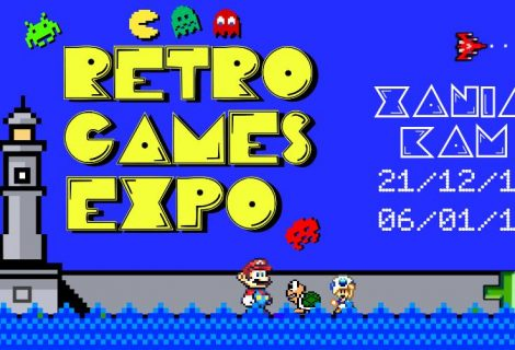 Έκθεση Retro Games Expo (1971 - 1995) στα Χανιά! Ένα απίθανο ταξίδι στον κόσμο του retro gaming!