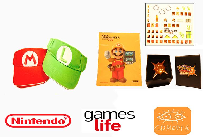 Νικητές διαγωνισμού με συλλεκτικά δώρα Nintendo XMAS 2018!