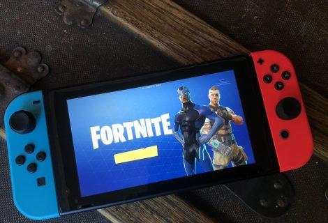 Το Fortnite ήταν το πλέον πολυπαιγμένο game στο Switch για το 2018 στην Ευρώπη!