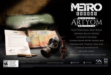 Metro Exodus Artyom: μία περιορισμένη έκδοση κυριολεκτικά… ανεκτίμητη!