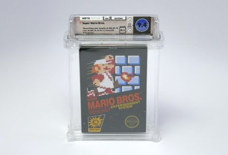 Copy του πρώτου Super Mario Bros. πωλήθηκε για 100.000$!