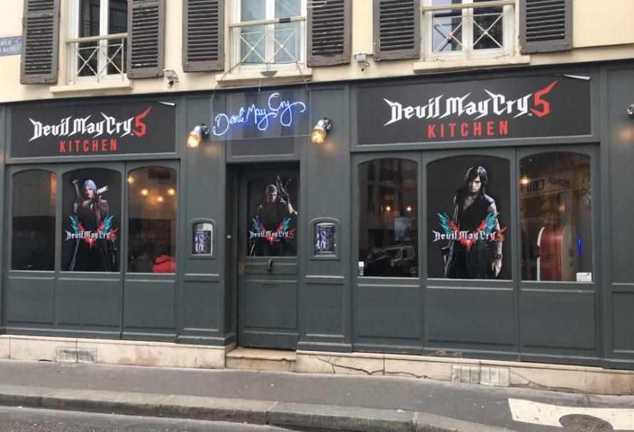 Έπος! Δείπνο στο εστιατόριο του… Devil May Cry 5!