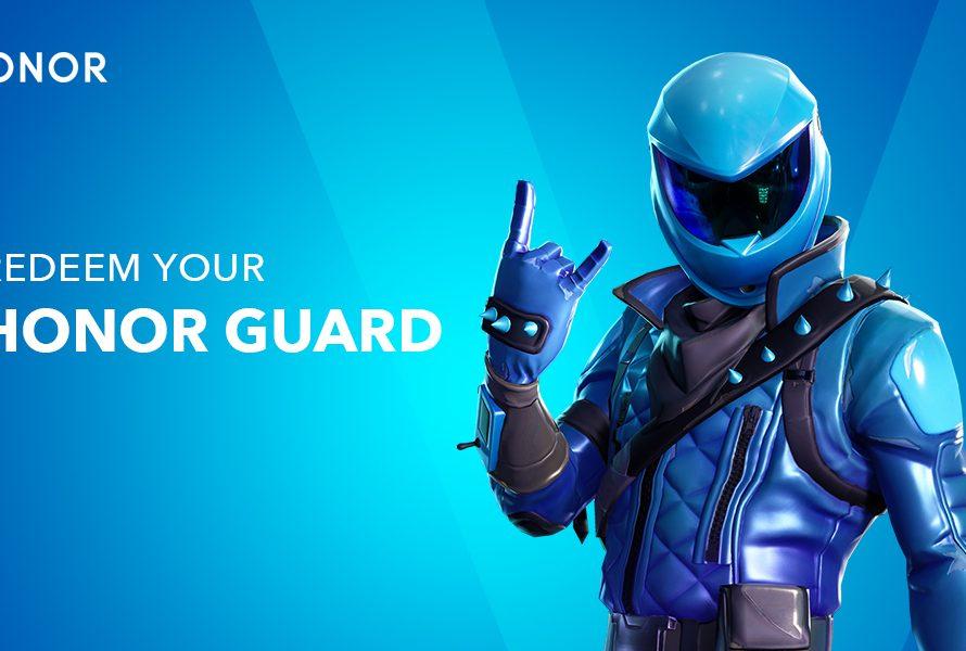 Fortnite: Το Honor Guard Skin είναι διαθέσιμο για χρήστες Honor View20!