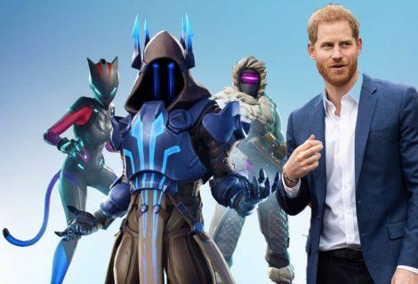 Ο Πρίγκιπας Harry της Αγγλίας ζητάει την απαγόρευση του Fortnite και η gaming community αντιδράει με οργή!