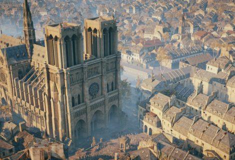 Μπράβο στη Ubisoft! Δωρίζει 500.000 ευρώ για την ανοικοδόμηση της Παναγίας των Παρισίων και δίνει δωρεάν το AC: Unity!