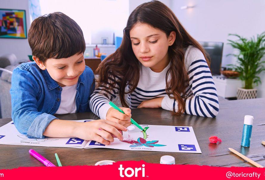 Ελευθερώστε τη δημιουργικότητα σας και διασκεδάστε με το Tori!