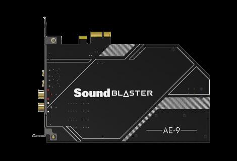 Η Creative επαναπροσδιορίζει την κορυφή στις κάρτες ήχου  με τις Sound Blaster AE-9 και Sound Blaster AE-7!