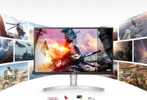 Υψηλή απόδοση, εκπληκτική ανάλυση και μοναδική εμπειρία θέασης από τα νέα HDR UHD 4K monitors της LG!