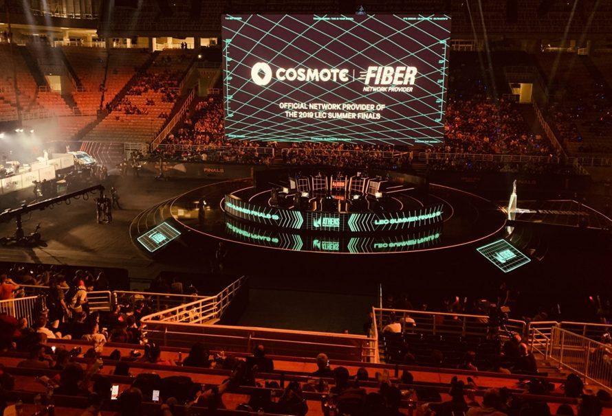 Με COSMOTE Fiber «έτρεξε» ο ευρωπαϊκός τελικός του μεγαλύτερου eSports event παγκοσμίως, League of Legends!