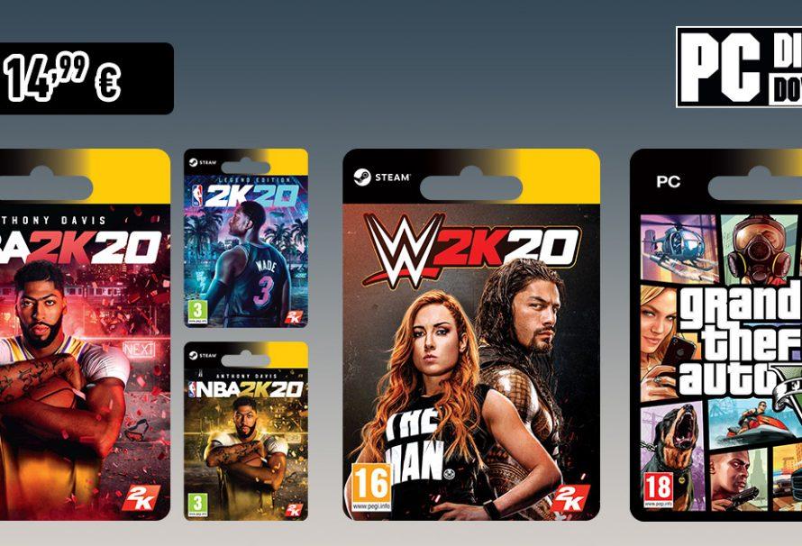 Σούπερ οικονομικές προσφορές στα games της Take-Two!