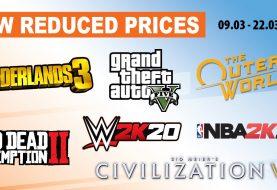 Σούπερ προσφορές στα games της Take-Two! Borderlands 3, GTA VI, NBA 2K20 και... πολλά ακόμη!