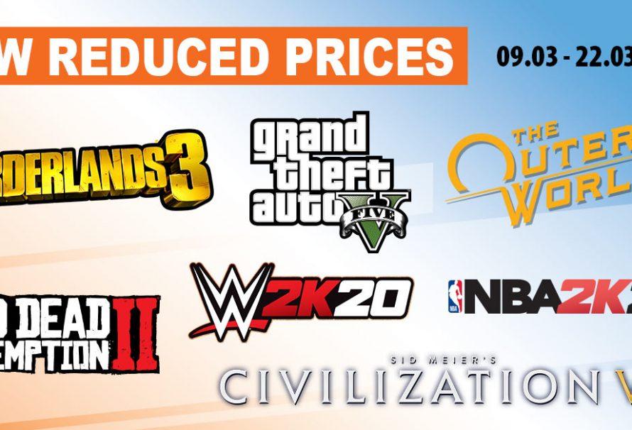 Σούπερ προσφορές στα games της Take-Two! Borderlands 3, GTA VI, NBA 2K20 και… πολλά ακόμη!