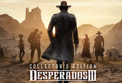 Ματιές στην εκπληκτική Collector's Edition του Desperados III!