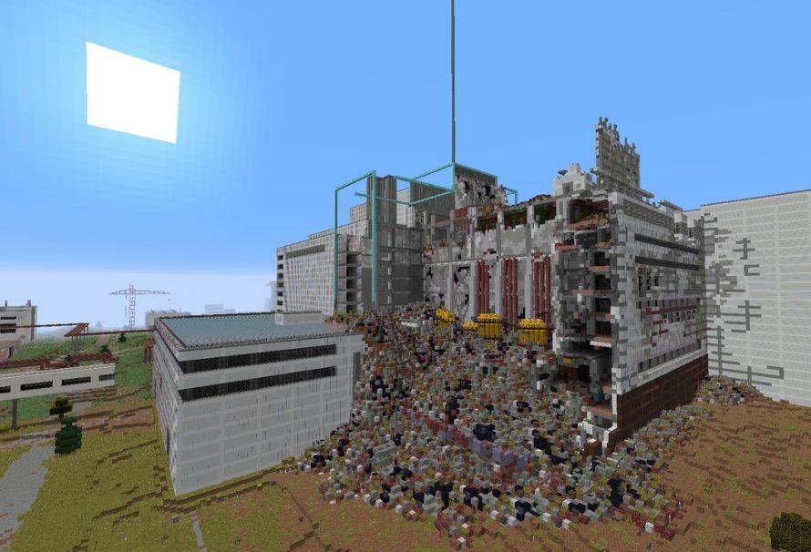 Απίθανο! Gamer του Minecraft αναδημιουργεί το Chernobyl!
