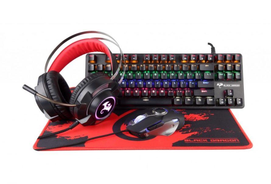 Προ-παραγγείλτε τo νέο Black Dragon Gaming Starter Kit 2020 και ετοιμαστείτε να… λιώσετε στο gaming!