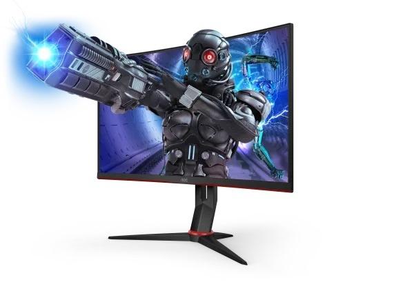 Gaming monitors υψηλών οκτανίων, με τα AOC C27G2ZE/BK & C27G2ZU/BK που θα βρείτε στο Nok-Shop.gr!