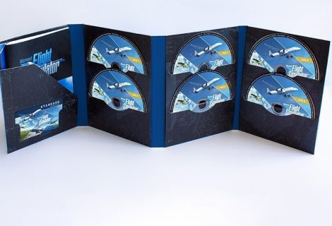 Ρεκόρ! Σε 10 physical double-layer DVDs το Microsoft Flight Simulator!