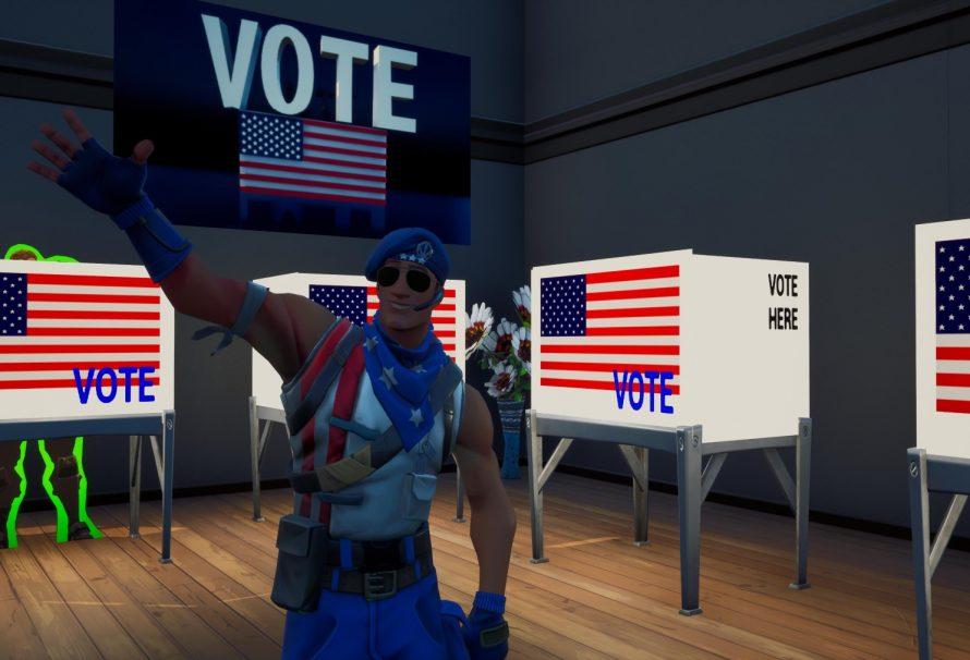 To Fortnite «ψηφίζει»… Biden! Νέος map που αφορά τον υποψήφιο πρόεδρο των Η.Π.Α!