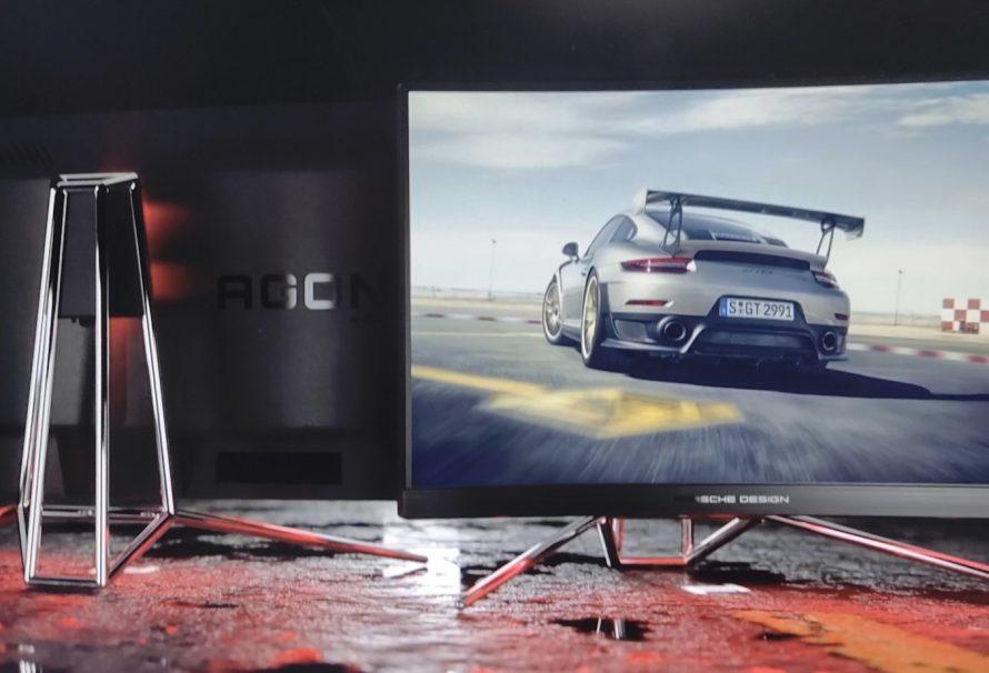 First Look! AOC Agon PD27 Porsche Design ή όταν το sophisticated design συναντάει την state-of-the art τεχνολογία!