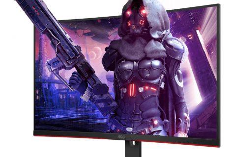 """Η AOC κυκλοφορεί δύο νέες 31,5"""" gaming κυρτές οθόνες της σειράς G2 με 165 Hz και 1ms!"""