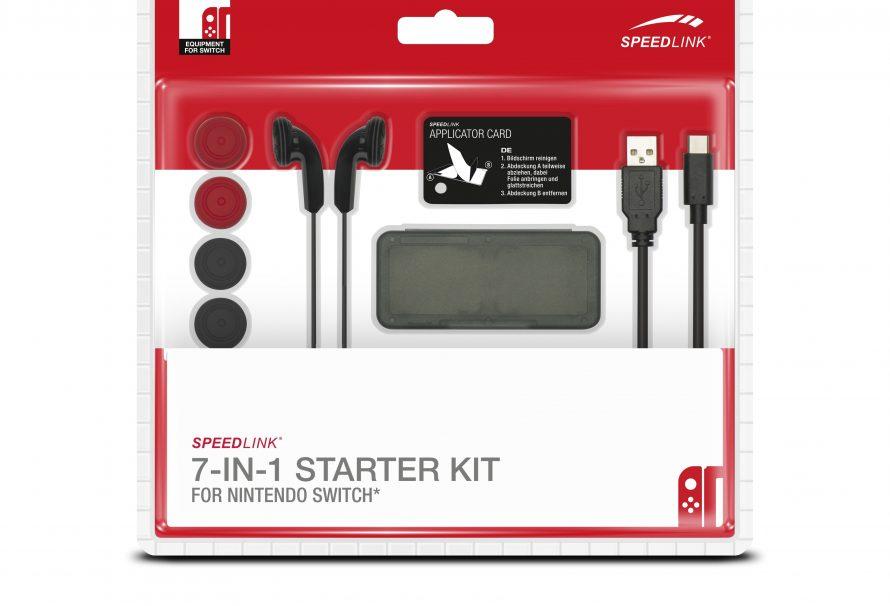 ΣΟΥΠΕΡ XMAS Διαγωνισμός! Κερδίστε 20 Starter Kit της SPEEDLINK (7-in-1) για το Switch!